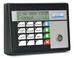 RT300-TCP docházkový terminál kontaktní